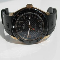 Edox Class-1 GMT Worldtimer Automatik Carbon Rose-Gold 43mm...
