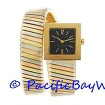 Bulgari Tubogas Tri Gold Ladies SQ221T Pre-owned