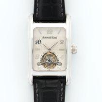 Audemars Piguet White Gold Edward Piguet Tourbillon Strap Watch