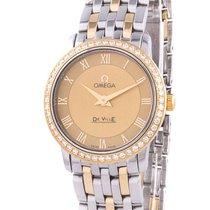 Omega De Ville Prestige Diamonds Ladies Watch