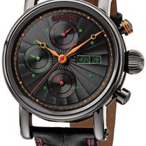 Chronoswiss Sirius Automatic Chrono Mens Watch Day of Week...