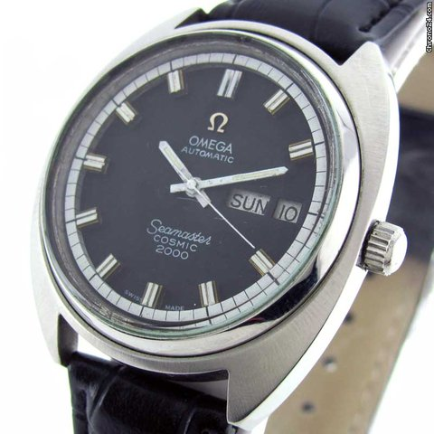Omega SEAMASTER COSMIC 2000 DAY DATE AUTOMATIC WATCH
