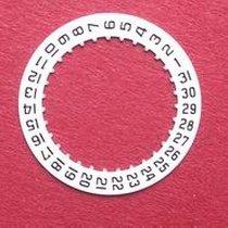 Cartier Datumsscheibe, schwarze Schrift auf weißem Grund für...