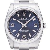 Rolex Air King, Oyster Perpetual Ref.114200 Blau