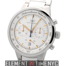 IWC GST Collection Stainless Steel Quartz White Dial 36mm Ref....