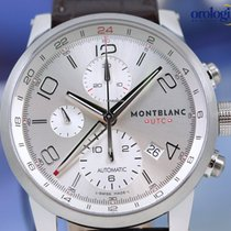 Montblanc Men's Timewalker Chronovoyager UTC 43mm Steel on...