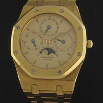 Audemars Piguet Yellow Gold Royal Oak Perpetual Calendar