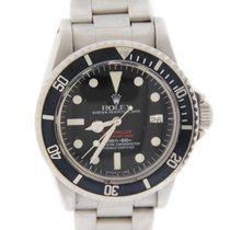 Rolex Sea Dweller Double Red Stainless Steel