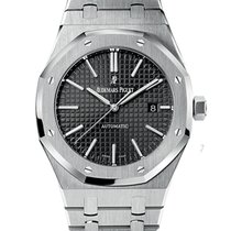 Audemars Piguet ROYAL OAK JUMBO 41MM BLACK DIAL