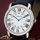 Cartier Ronde Solo Quartz 36MM SS / Leather