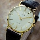 Cyma Swiss Made Vintage 1950s Manual Gold Plated Collectible...
