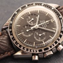 Omega speedmaster premoon step dial tritium patina - vintage