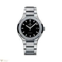 Hublot Classic Fusion 33 MM Quartz Titanium Women's Watch