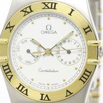 Omega Polished Omega Constellation Day Date 18k Gold Steel...