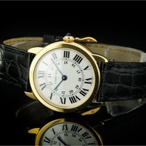 Cartier Louis Ronde (29mm) mit silbernem Zifferblatt in 18k...