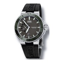 Oris Men's 743 7673 4137-07 4 26 34EB Aquis The Seas Of Time