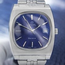 Omega Geneve Automatic Men's Stainless Steel Jumbo Size...