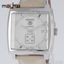 TAG Heuer Monaco Automatic Steel MOP Dial and Diamonds...