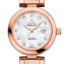 Omega De Ville Ladymatic Omega Co-Axial Sedna Gold 34mm