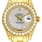 Rolex Ladies Rolex Masterpiece/Pearlmaster Watch 80298 Silver...