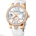 Ulysse Nardin Dual Time Executive White Rose Gold 18K Diamonds...