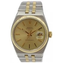 Rolex Men's Rolex Datejust OysterQuartz 18k Yellow Gold...