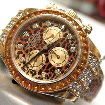 Rolex DAYTONA LEOPARD SAPPHIRE WATCH REF. 116598