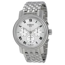 Tissot Bridgeport Automatic Chronograph Silver Dial Stainless...
