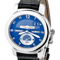 Ulysse Nardin 160th Anniversary 18k White Gold Mens Watch
