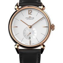 Fortis Terrestis Orchestra Am Classical Auto Watch 18k R/gold...