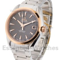 Omega Seamaster Aqua Terra 150M in Steel with Rose Gold Bezel