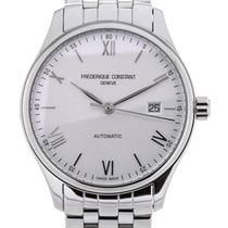 Frederique Constant Classics Index 40 White Dial Steel
