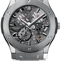 Hublot Classic Fusion Classico Ultra Thin Skeleton 42mm...
