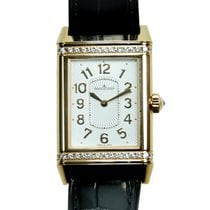 Jaeger-LeCoultre New  Reverso 18k Rose Gold Silver Manual Wind...