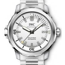 IWC Schaffhausen IW329004 Aquatimer Automatic Silver Plated...