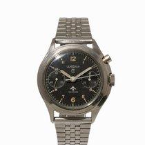 Lemania Single Pusher Military Chronograph,Switzerland, c. 1970