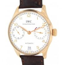 IWC Portoghese 7 Days Iw500101 Rose Gold, Leather, 42mm