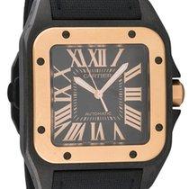 Cartier Santos 100 Black PVD Gold