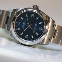 Rolex Oyster Perpetual 177200 blue dial
