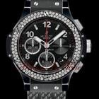 Hublot BIG BANG BLACK MAGIC DIAMOND - ALL BLACK - 41mm