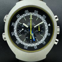 Omega Flightmaster Vintage Blue and Yellow Hands,Stainless Steel