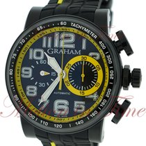 "Graham Silverstone Stowe ""Yellow"", Black Carbon Dial,..."