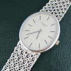 Patek Philippe White Gold Oval Shape Woven Bracelet Watch Ref....