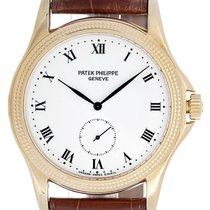 Patek Philippe Calatrava 18k Yellow Gold Men's Watch 5115...
