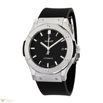 Hublot Classic Fusion Titanium Automatic Rubber Men's Watch
