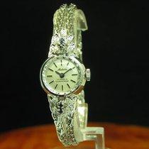 Medalia 835 Silber Handaufzug Damenuhr Mit Saphir Besatz /...