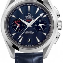 Omega Seamaster Aqua Terra Co-Axial GMT Chrongraph