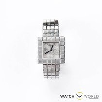 Chopard Ice Cube 2935 by De Grisogono factory diamonds white gold