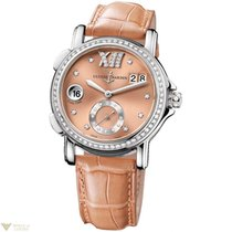 Ulysse Nardin Dual Time Lady Small Second Diamonds Bezel...