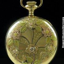 Washington Watch Co Pocket Watch 14k Gold Plated